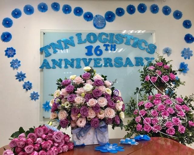 Kỷ niệm 16 năm ngày thành lập TNN Logistics