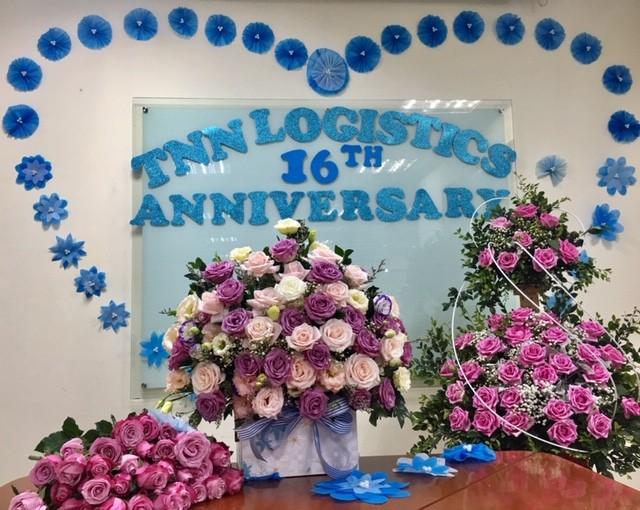 Celebrating 16th anniversary of the founding TNN Logistics Co.