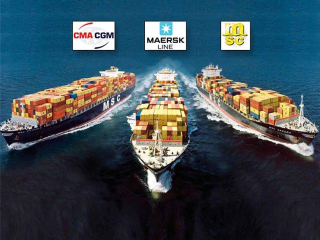 Liên minh ba hãng vận tải lớn nhất sắp được phê duyệt