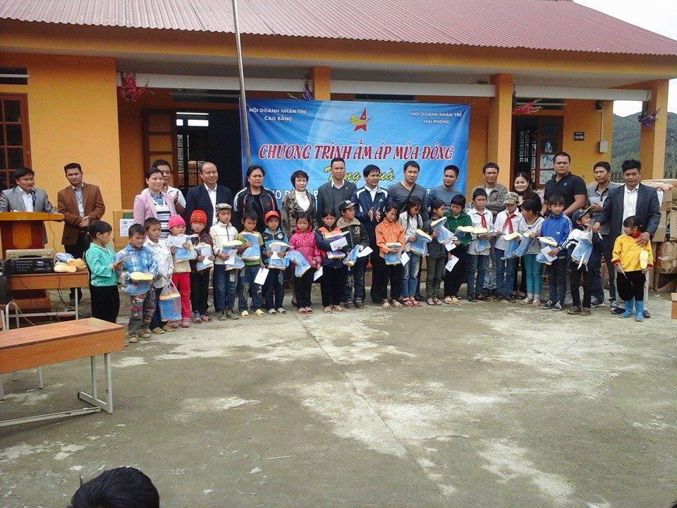 Chuyến đi từ thiện tỉnh Cao Bằng tháng 11/2014