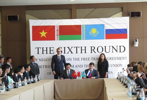 Hiệp định FTA Việt Nam – Liên minh kinh tế Á – Âu